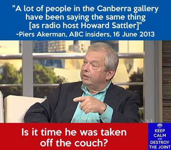 #Mediawatch honest broker for silent, censored Piers' ABC