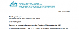 FOI delivers your not so up-to-date Press Gallery membership list