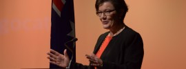 Indi independent candidate Cathy McGowan