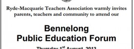 Bennelong MP falters on Abbott's switcheroo as teachers demand more on education policy
