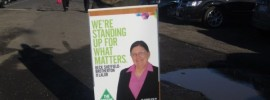 Labor voter @jenoutwest turns Green in Lalor