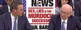 Breaking News: Sex, Lies and the Murdoch Succession by Paul Barry