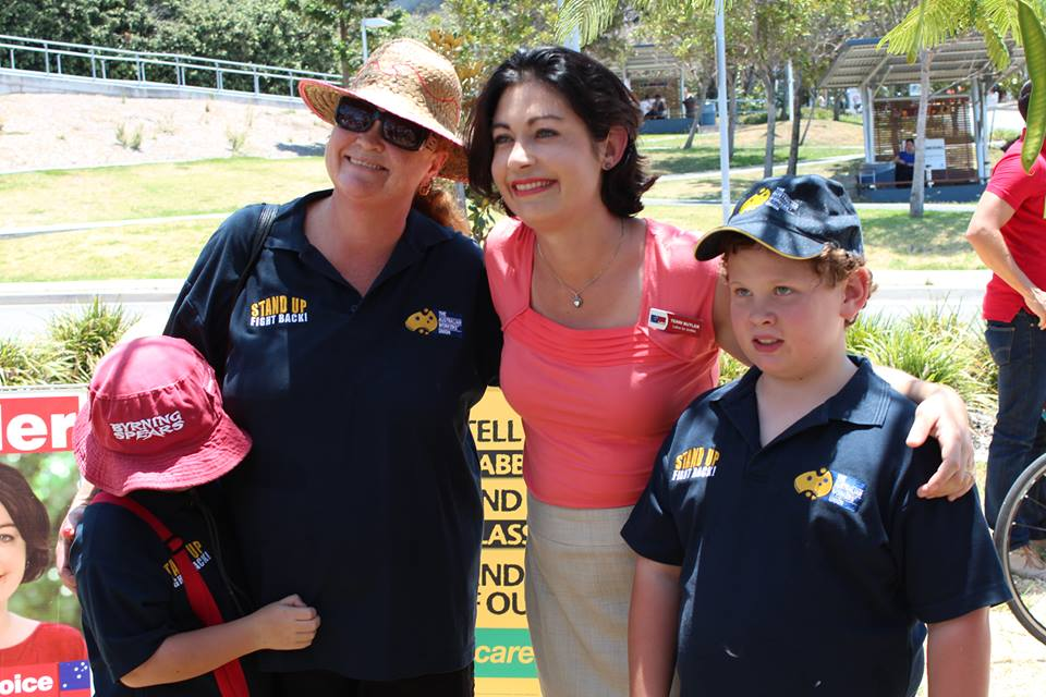 Terri Butler with Supporters