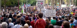 Storify: Melbourne #MarchInMarch Street Party Protest @geeksrulz