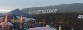 Frontline on #BentleyBlockade: @trisholaviolet reports
