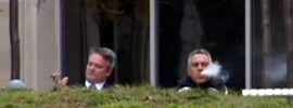 Joe hockey smoking