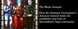 The Bleijie Betrayal: analysis, @Qldaah #qldpol