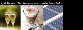 Those solar powered, champagne sipping, latte drinkers: @Qldaah #qldpol