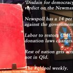 'Disdain for democracy', Fitzgerald's verdict – The #qldpol weekly: @Qldaah