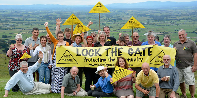 Gippslanders celebrate declaring themselves Gasfield Free!