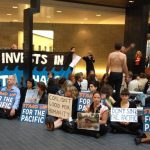 ANZ Bank HQ in Melbourne occupied by #ClimateWarriors: @Takvera
