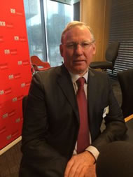 612 ABC Brisbane: Deputy Premier Jeff Seeney explains why the government will spend money on a railway for miners.