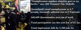 Try hards: October labour force, Qld trend unemployment at 6.7pc, @Qldaah #qldpol