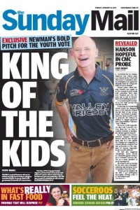 18/01/15 The Sunday Mail  - King Of The Kids