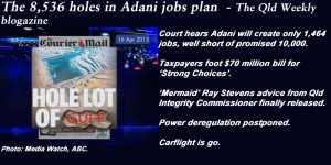 The 8,536 holes in Adani jobs plan  - The Qld Weekly blogazine