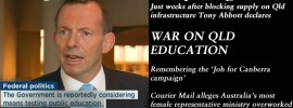 The Queensland Weekly Blogazine - Tony Abbott declares war on Qld education.