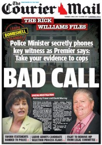 The Courier Mail - Bad Call - June 4 2015.