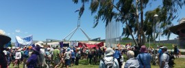 Canberra on the march for #PeoplesClimate: @margaretoconno5 reports