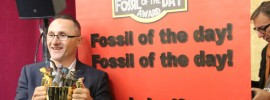 #FossiloftheDay for Julie Bishop's endorsement of #coal for Australia reports @takvera