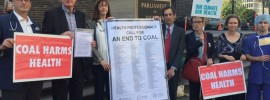 Doctors prescribe LaTrobe Valley #coal closure for our health and a safe #climate reports @takvera
