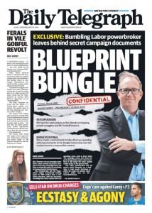 The Daily Telegraph - Blueprint Bungle, May 26, 2016.