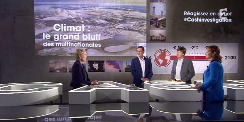 French Minister of Ecology Segolene Royal on France 2 TV Cash Investigations on Engie