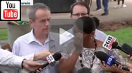 ABC News 24:l Nova Peris breaks down under media pressure over her decision not to re-contest.