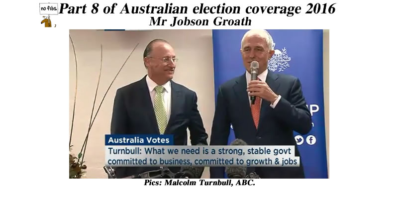 Part 8 of Australian election coverage 2016.