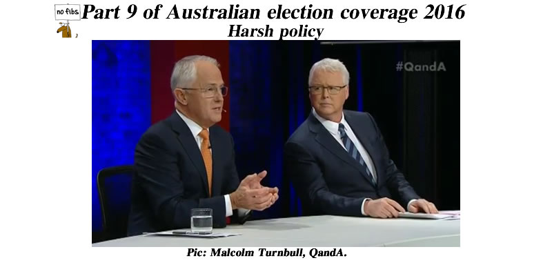 Part 9 of Australian election coverage 2016.