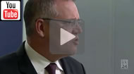 "ABC News 24 - War on growth: Scott Morrison uses the word ""war"" 13 times at presser."
