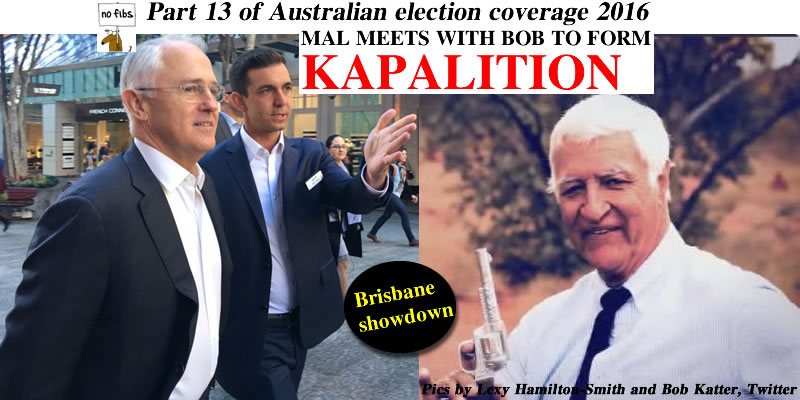 Part 13 of Australian election coverage 2016.
