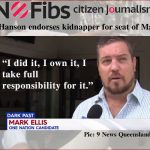 Pauline Hanson endorses kidnapper Mark Ellis for Macalister – @Qldaah #Pinkenba6 #qldpol