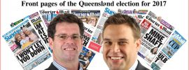 Archive of The Courier Mail's front pages during election 2017 #qldvotes – @Qldaah