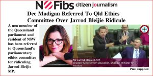 Dee Madigan Referred To Qld Ethics Committee Over Jarrod Bleijie Ridicule